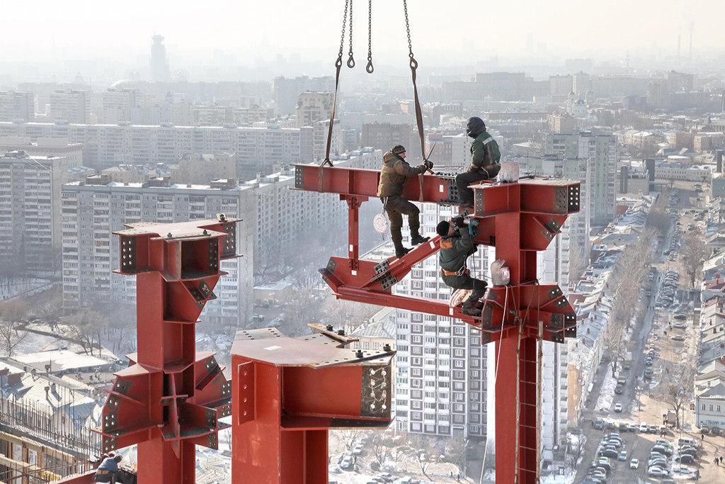 Быть на высоте – призвание монтажника