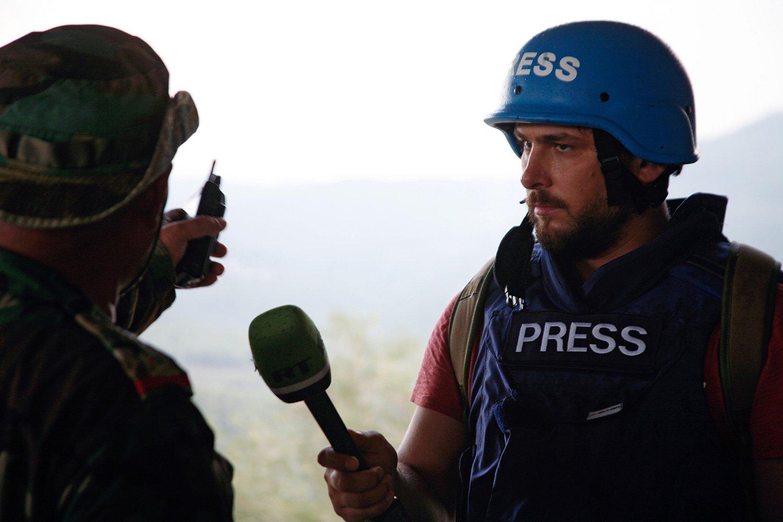 Журналист за границей