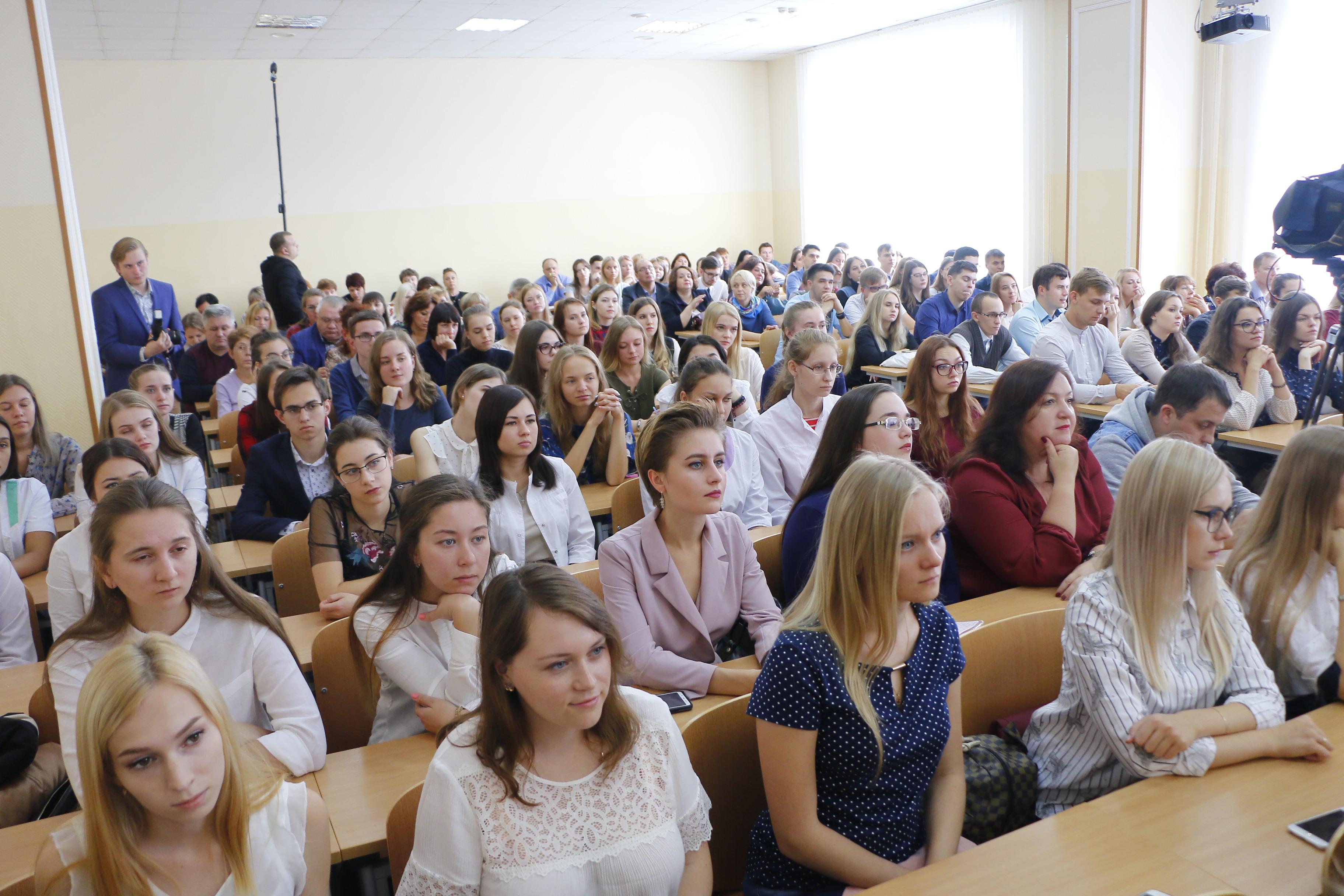 Студенты очники