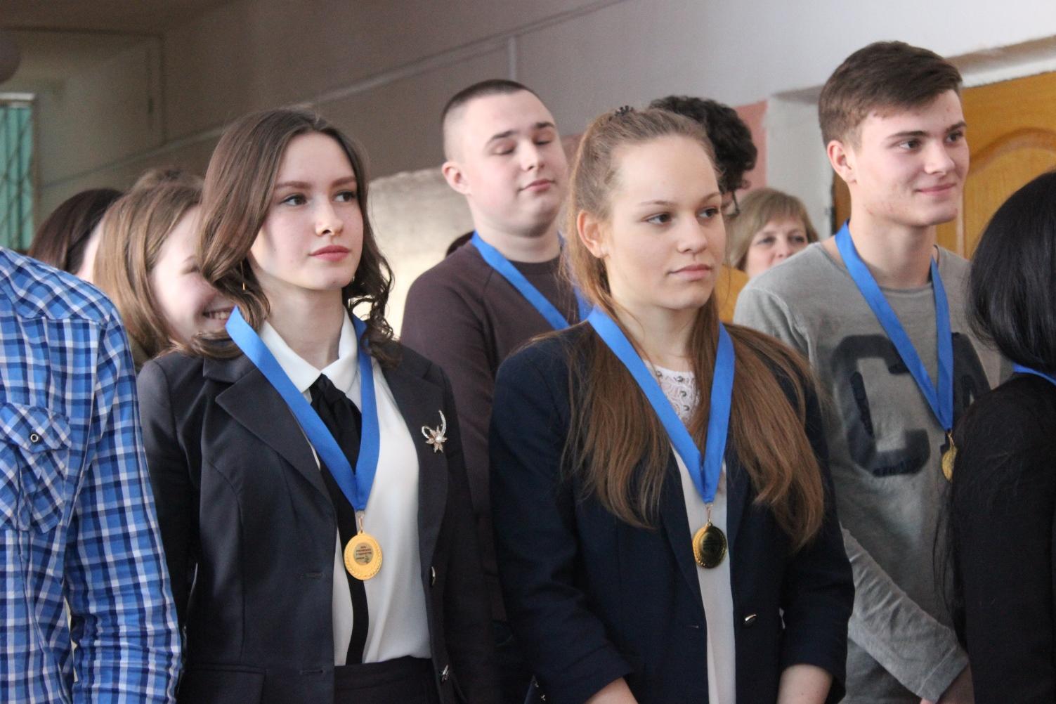 Награждение студентов за отличную учебу