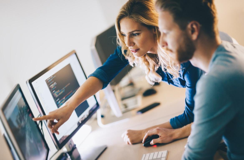 Новичок занимается мелкой доработкой и исправлением ошибок в программной обеспечении