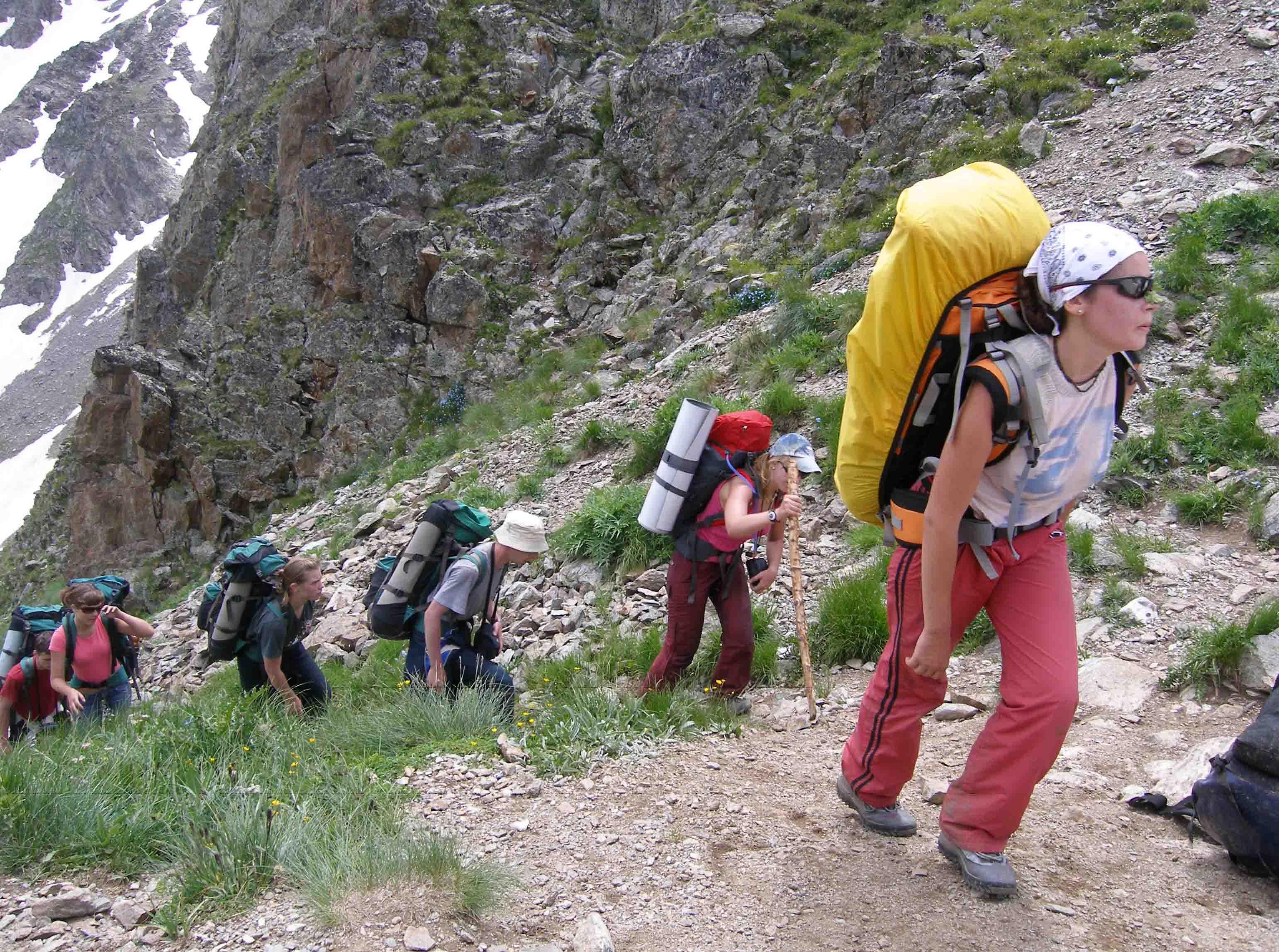 Гид-проводник в горах