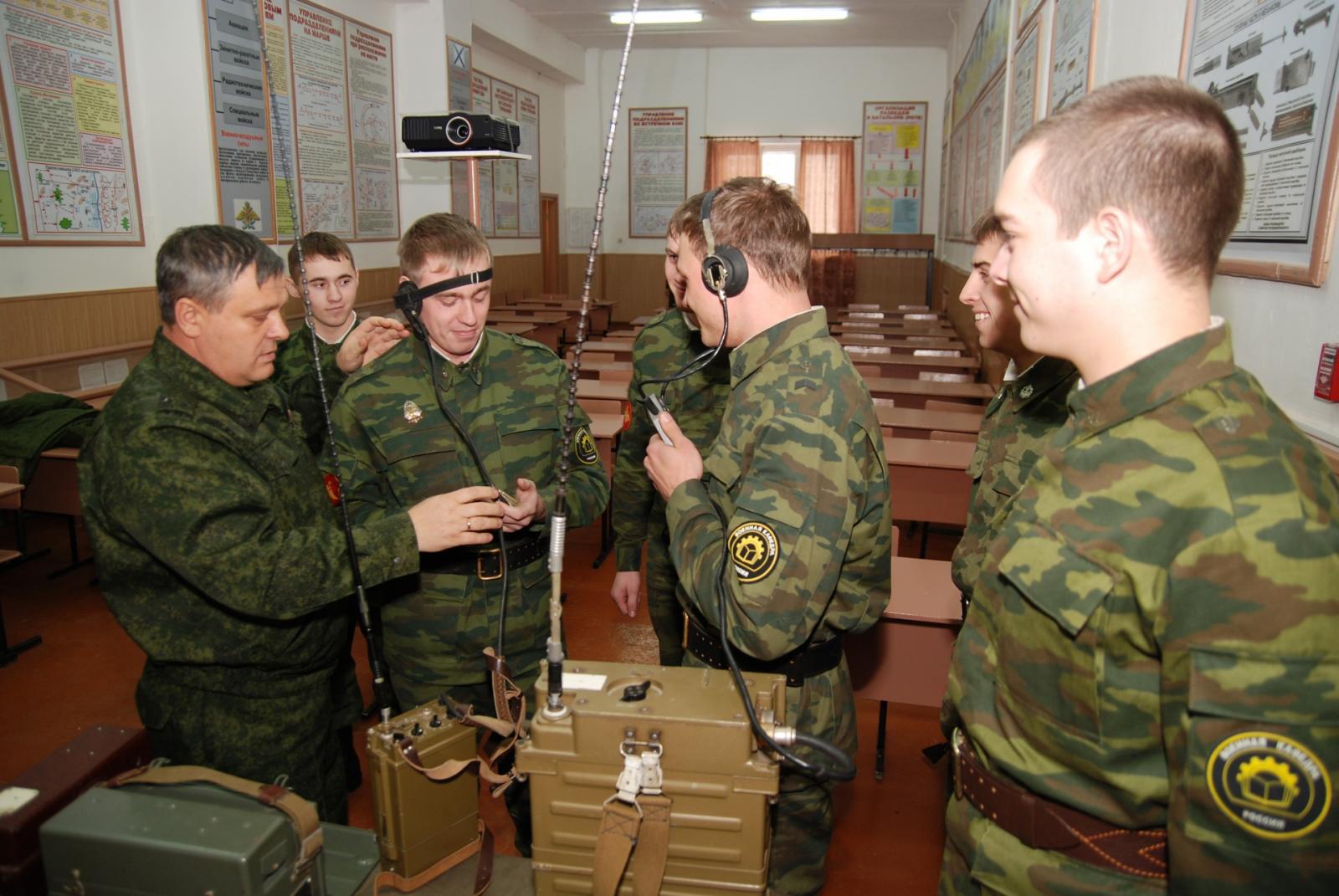Обучаться на военной кафедре можно без отрыва от основного образования